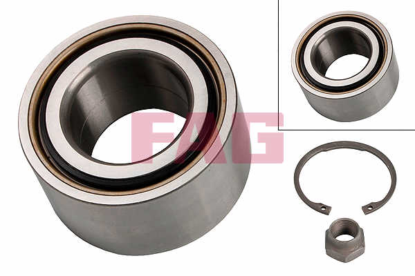 FORD PUMA 1.7 Wheel Bearing Kit Rear 97 to 02 FAG Genuine Quality Replacement