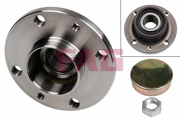 ABARTH 500 1.4 Wheel Bearing Kit Rear 2008 on B/&B 46519901 60816007 71737189 New