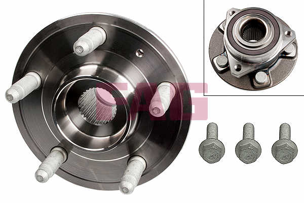 Wheel Bearing Kit FBK966 First Line 7701208059 Genuine Top Quality Replacement