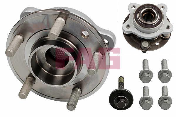 VOLVO V40 52 Wheel Bearing Kit Front 1.6 1.6D 2012 on FAG 13045162 31277617 New