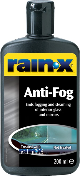 Rain x anti fog 200ml 81199 dashboard glass for Rain x interior glass anti fog