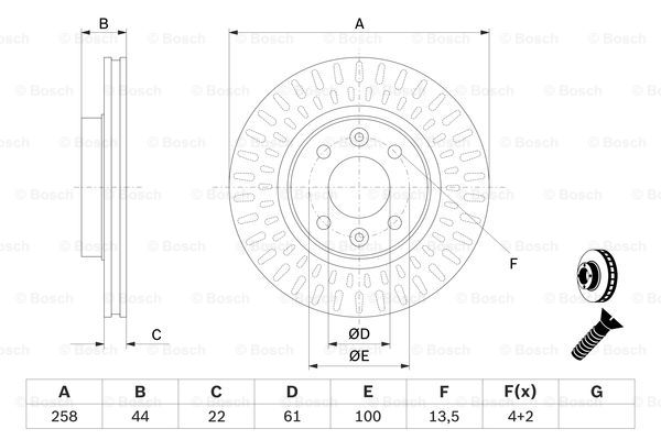 Bosch 2x Brake Discs Pair Vented 0986479a86 Renault Clio Mk4 12 1 2 Citroen C4 Wiring Diagrams: Renault Clio 2 Wiring Diagrams At Hrqsolutions.co