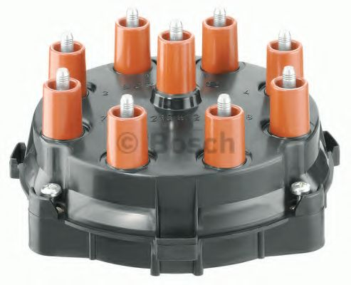 MERCEDES 560 C126 5.5 Distributor Cap 85 to 87 M117.968 Bosch A0001585202 New