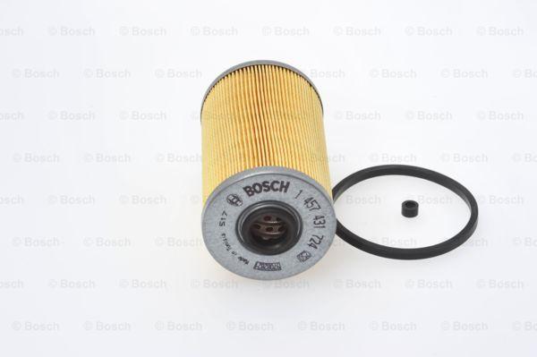 3165144129844 1x Bosch Carburant-Filtre Element N1724 1457431724