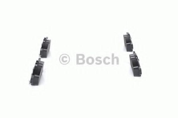 Juego de pastillas de freno se ajusta Mini Cooper Convertible R52 1.6 Trasero 04 a 07 Original Bosch