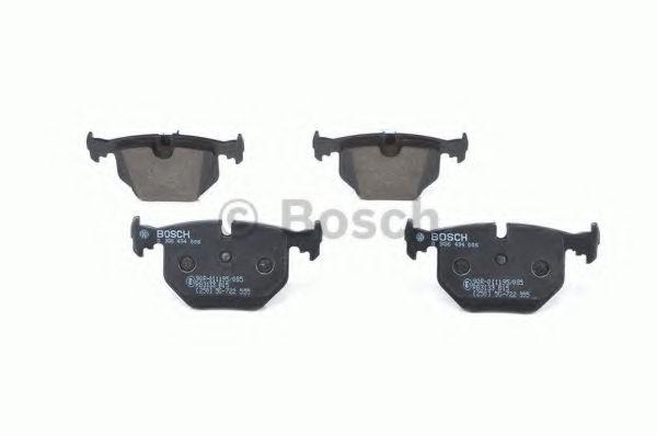 Brake Pads Set fits BMW X5 E53 Rear 3.0 3.0D 00 to 06 B/&B 34211163324 Quality
