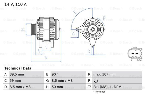 LICHTMASCHINE GENERATOR 140-A SKODA ROOMSTER 5J 1.6 TDI SUPERB 3T 1.9 2.0 TDI