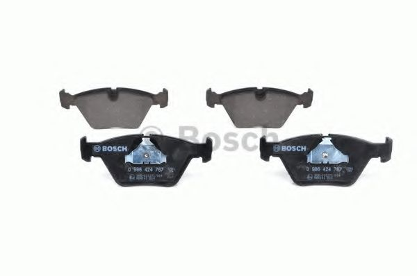 Brake Pads Set fits BMW 330 E46 Front 3.0 3.0D 99 to 07 QH 34112229935 Quality