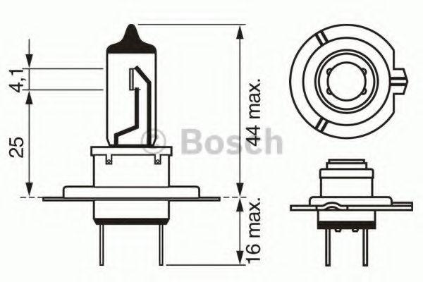 longlife 499 h7 12v 55w px26d 1987302078 bosch 12v55wh7longlifedaytime quality ebay. Black Bedroom Furniture Sets. Home Design Ideas