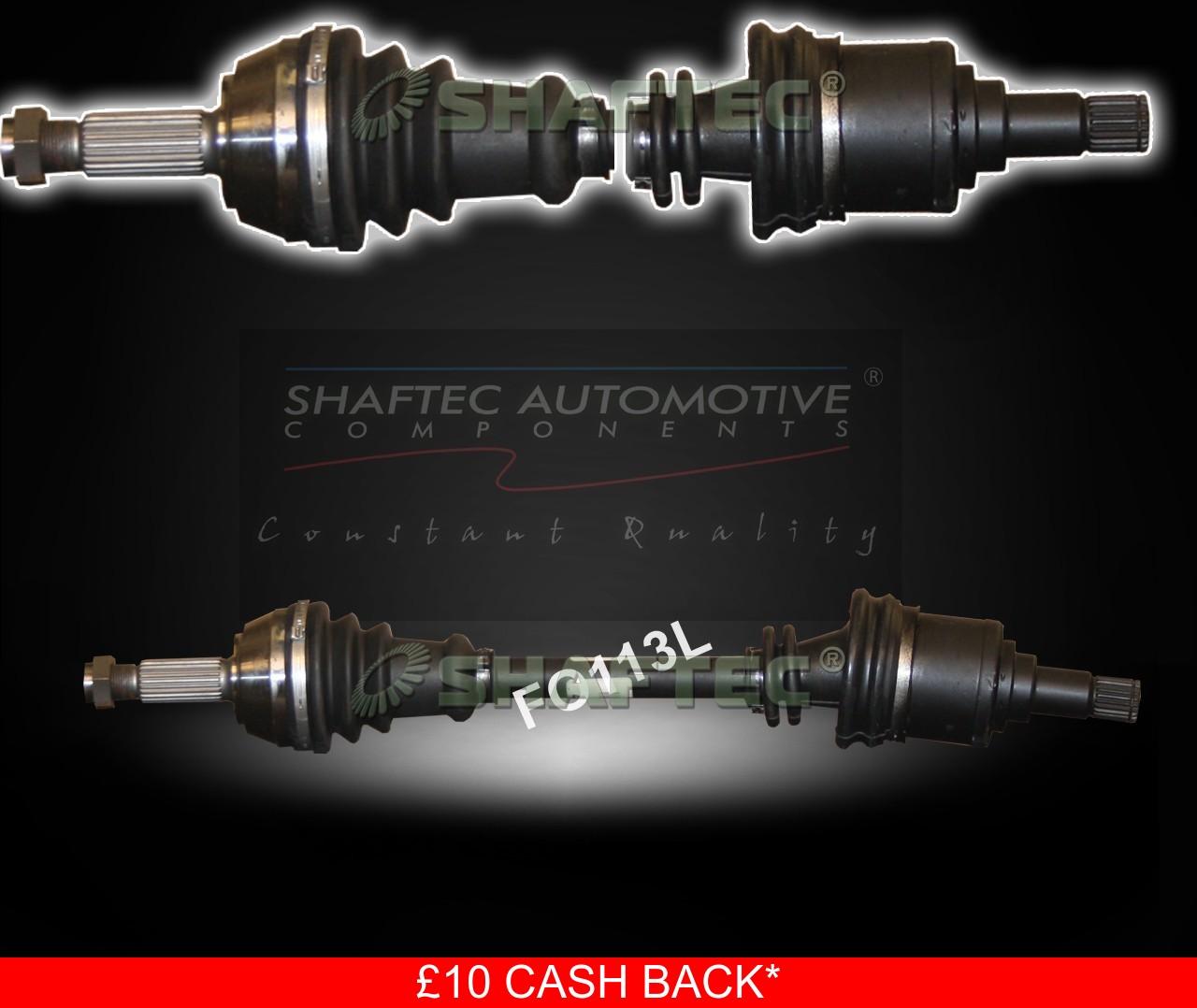 Drive Shaft FO113L Shaftec Driveshaft 5024574 5024575 5026653 6596778 6596779