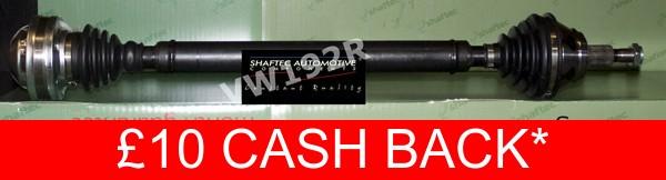 Drive Shaft VW192R Shaftec Driveshaft 1J0407272BJ 1J0407272GC 1J0407272GD Reman