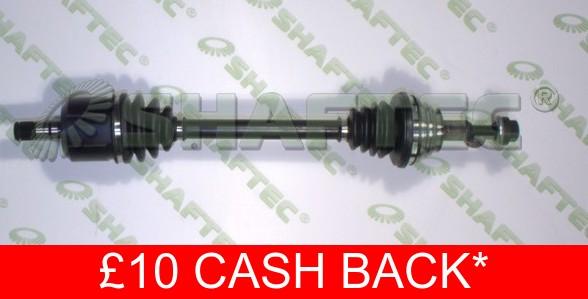 Drive Shaft VW254L Shaftec Driveshaft 1K0407271CQ 1K0407451PX Quality Reman