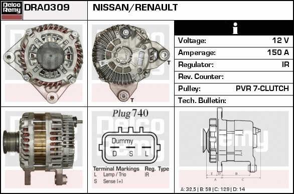 Fits Nissan X-Trail T30 2.2 DCi FWD Genuine Gates Alternator V-Belt