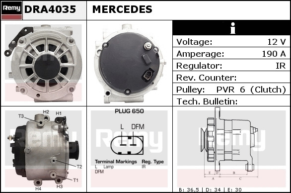 MERCEDES E320 S210 3.2D Overrunning Alternator Pulley 99 to 03 OM613.961 Clutch