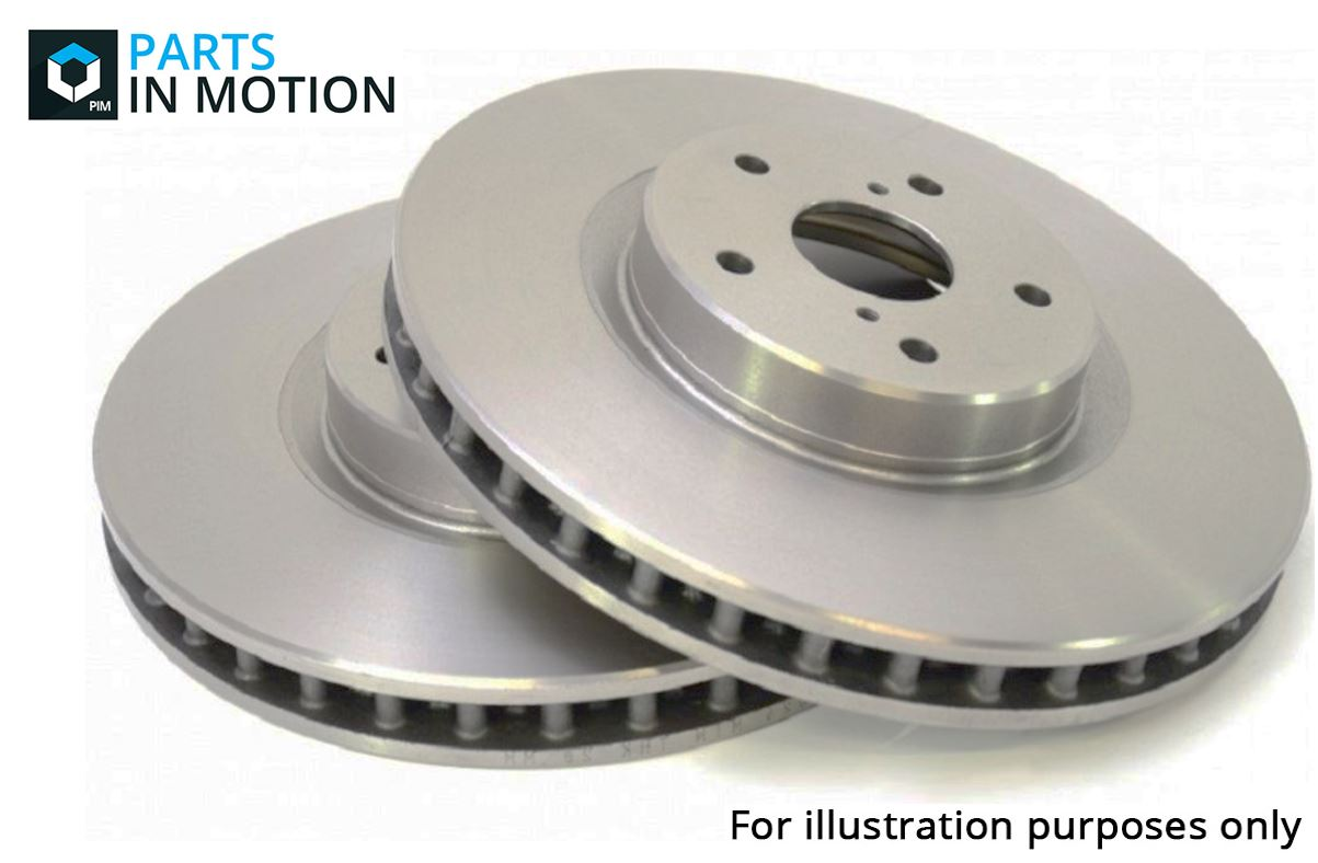 Fits Land Rover Discovery Sport 2.2D 4WD Delphi Rear Solid Coated Brake Discs